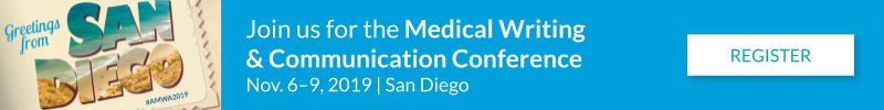 Join us for the 2019 Medical Writing & Communication Conference